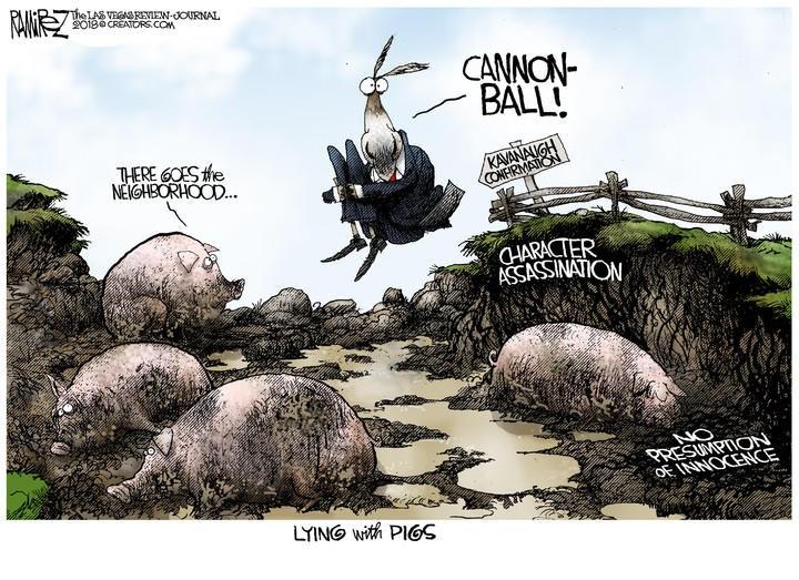 lying w. pigs