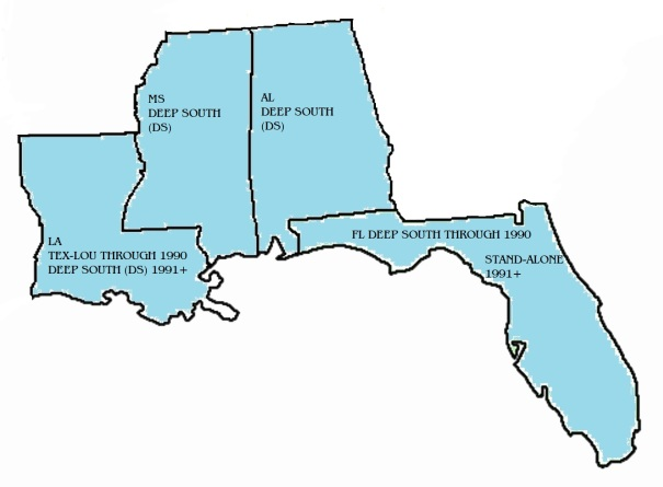 DEEP SOUTH CUTOUT