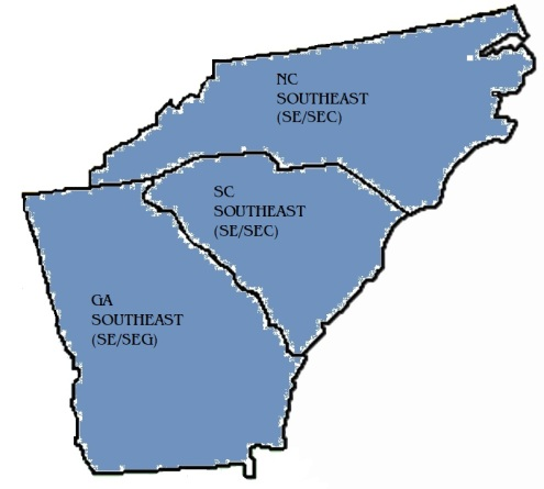 SOUTHEAST CUTOUT